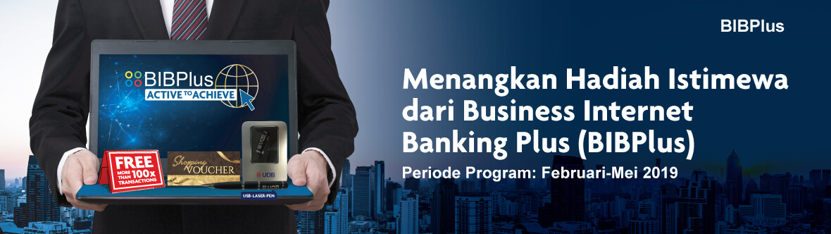 Business Internet Banking Plus Promo