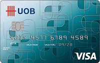 UOB Card - Front