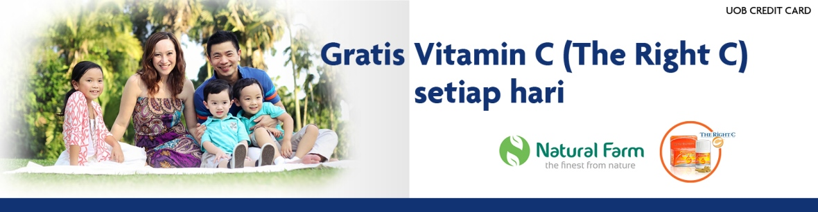 Promo Natural Farm Vitamin C