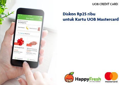 Uob Indonesia Diskon Setiap Hari Di Happyfresh Dengan Kartu Kredit Uob