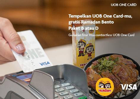 Uob Indonesia Tempelkan Uob One Card Mu Gratis Bento Special Uob One Card Promo