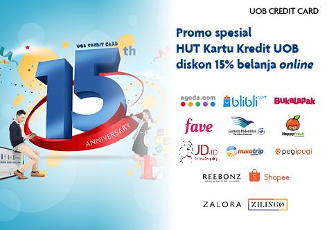 Uob Indonesia Promo Spesial Hut Kartu Kredit Uob