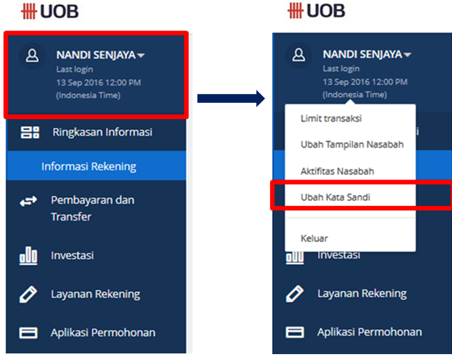 UOB Indonesia : Personal Internet Banking - Pertanyaan
