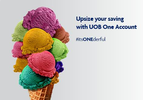 Upsize your saving with UOB One Account